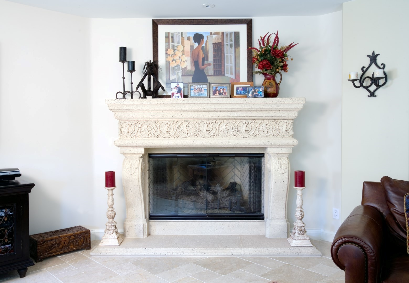 Los Angeles favorite Fireplace and mantel provider. Elegant Fireplace Mantel North Hollywood