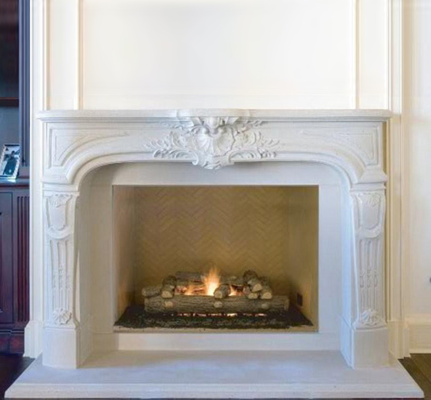 Elegant Fireplace Mantel The Chateaux Collection