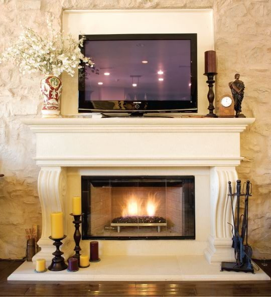 pdf Delrey - Elegant Fireplace Mantel - The Estate Collection